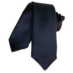 Cravate Segni Disegni LUXE, Faite main, Slim Marine
