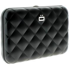 Porte carte Aluminium Black, Quilted Button, Ogon Designs Ogon Designs Petite Maroquinerie