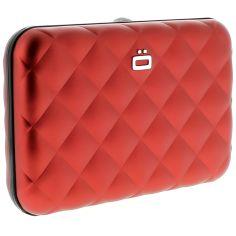 Porte carte Aluminium Red, Quilted Button, Ogon Designs Ogon Designs Petite Maroquinerie