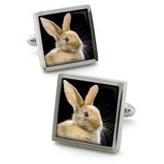 Bouton de manchette Robert Charles bunny
