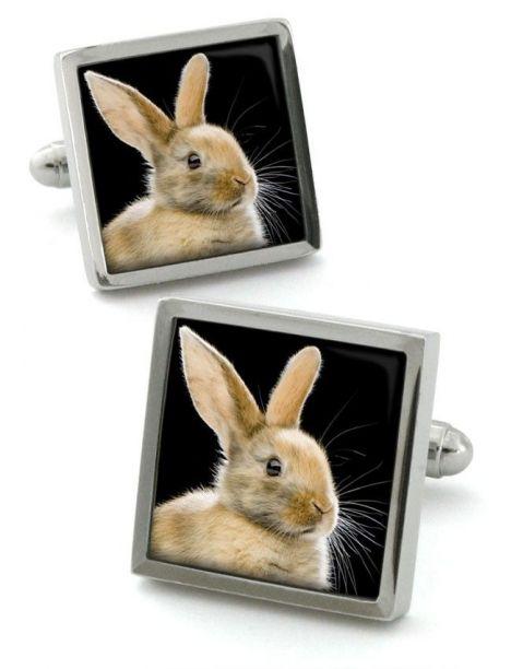 Bouton de manchette Robert Charles bunny Robert Charles Bouton de manchette