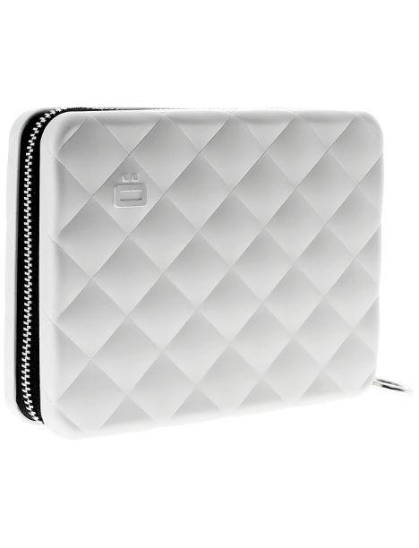 Portefeuille alu gris matelassé, format passeport, Ogon designs Ogon Designs Petite Maroquinerie
