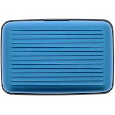 Porte carte Ogon Designs Blue métal - Bleu