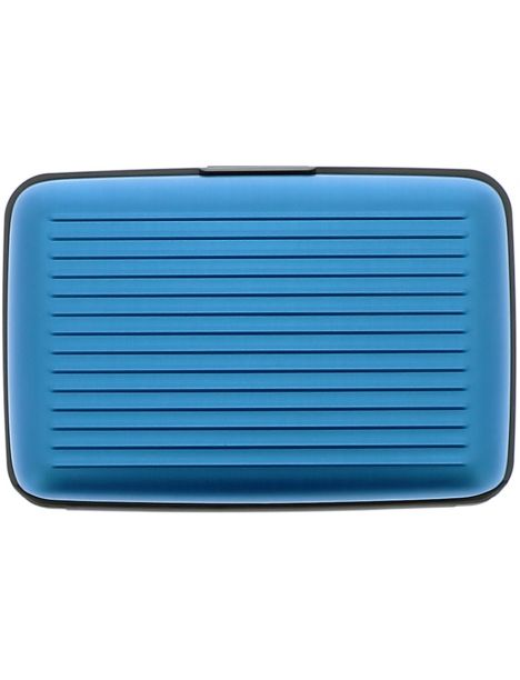 Porte Carte Ogon Designs Blue Métal Bleu CravateAvenuecom - Porte carte ogon