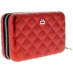 Porte carte Alu Red, Quilted Zipper 24 cartes, Ogon Designs Ogon Designs Petite Maroquinerie