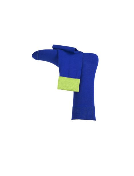 Chaussette bleu Hampshire Von Jungfeld Chaussettes