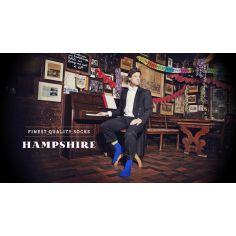 Chaussette bleu Hampshire
