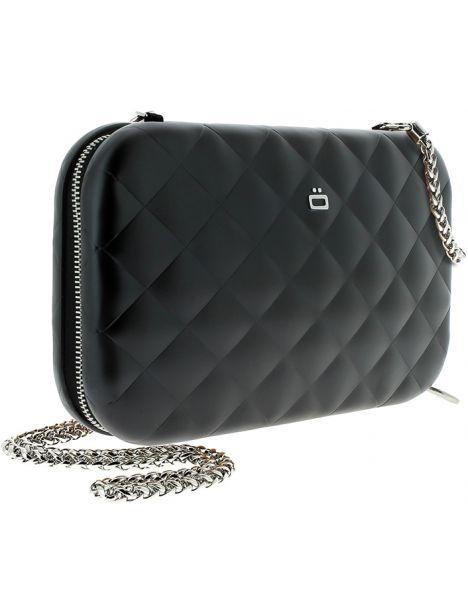 Sac Minaudière Quilted Lady Bag, Ogon Designs, Noir Ogon Designs Working Girl
