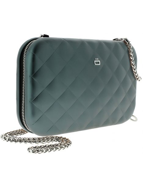 Sac Minaudière Quilted Lady Bag, Ogon Designs, Anthracite Ogon Designs Working Girl