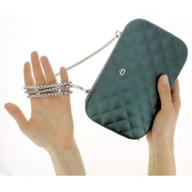 Sac Minaudière Quilted Lady Bag, Ogon Designs, Anthracite