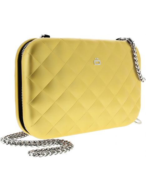 Sac Minaudière Quilted Lady Bag, Ogon Designs, doré Ogon Designs Working Girl