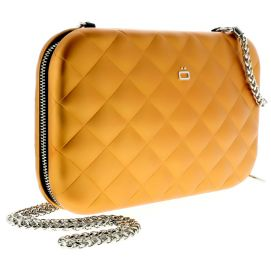 Sac Minaudière Quilted Lady Bag, Ogon Designs, Orange Ogon Designs Working Girl