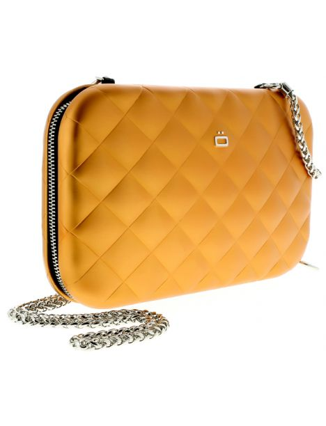 Sac Minaudière Quilted Lady Bag, Orange Ogon Designs Working Girl