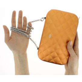 Sac Minaudière Quilted Lady Bag, Ogon Designs, Orange