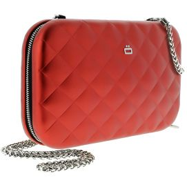 Sac Minaudière Quilted Lady Bag, Ogon Designs, rouge