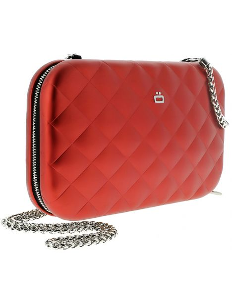 Sac Minaudière Quilted Lady Bag, rouge Ogon Designs Working Girl
