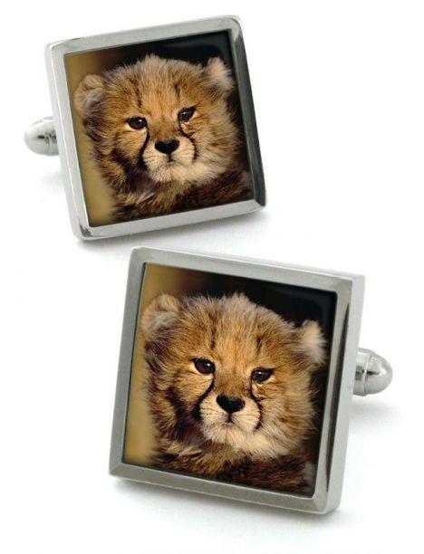 Bouton de manchette Robert Cheetah Robert Charles Bouton de manchette