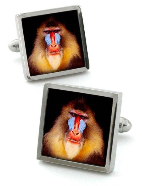 Boutons de manchette, Monkey Robert Charles Bouton de manchette