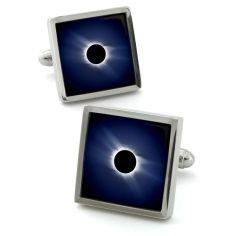 Bouton de manchette Robert Charles Moon Eclipse Robert Charles Bouton de manchette