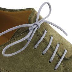 lacets ronds coton ciré couleur Aubergine