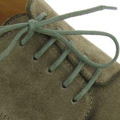 lacets ronds coton ciré couleur armée