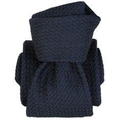 Cravate grenadine de soie, Segni & Disegni, Beverly Marine Segni et Disegni Cravates
