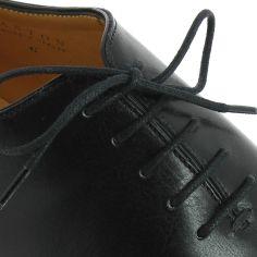 lacets ronds coton ciré couleur Noir