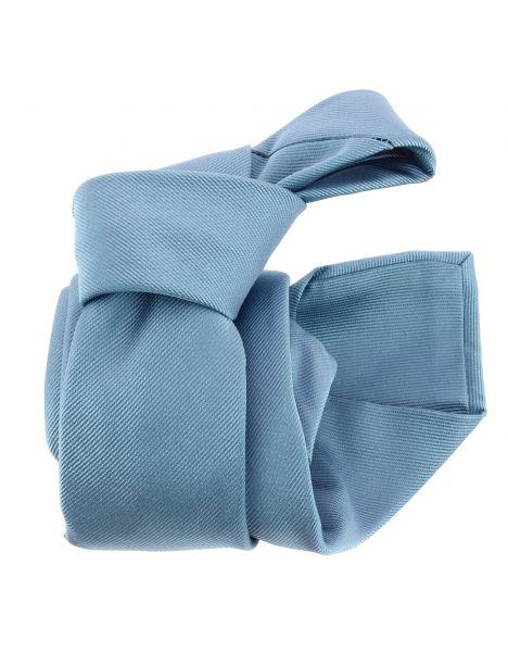 Cravate luxe faite à la main, Tevere bleu Tony & Paul Cravates
