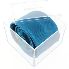 Cravate luxe faite à la main,  cobalto