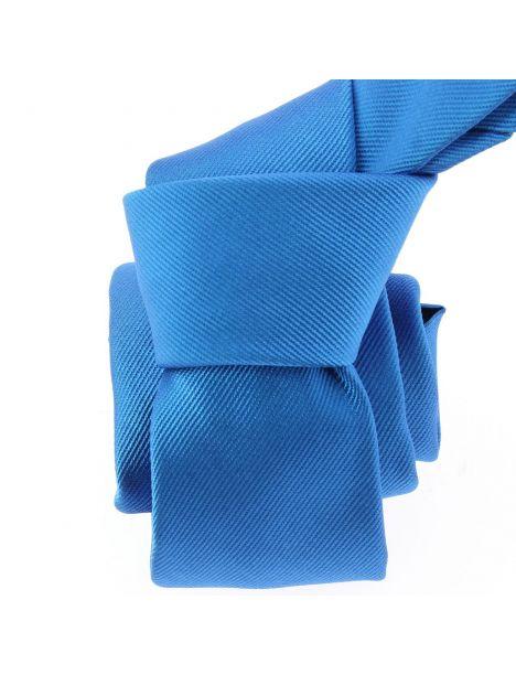 Cravate soie italienne, Bleu Cina Tony & Paul Cravates
