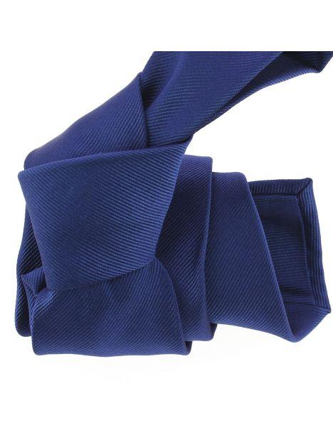 Cravate luxe faite à la main, Bleu royal Tony & Paul Cravates