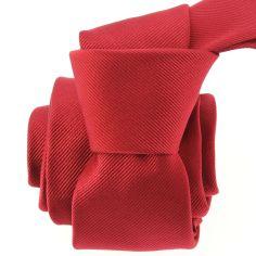 Cravate soie italienne, Rouge Sangue Tony & Paul Cravates