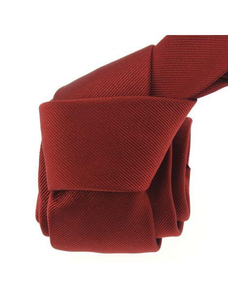 Cravate soie italienne, Rouge Peonia Tony & Paul Cravates
