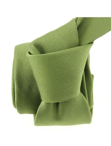 Cravate soie italienne, vert Mela Tony & Paul Cravates
