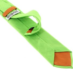 Cravate soie italienne, Vert Cedro