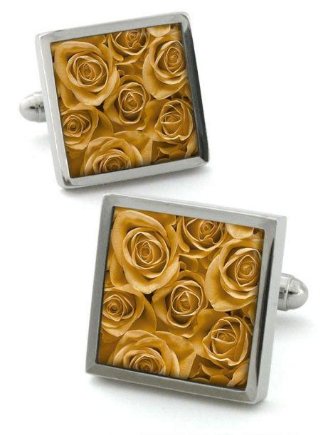 bouton de manchette robert charles rose gold robert. Black Bedroom Furniture Sets. Home Design Ideas