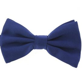 Noeud papillon soie italienne, Bleu royal