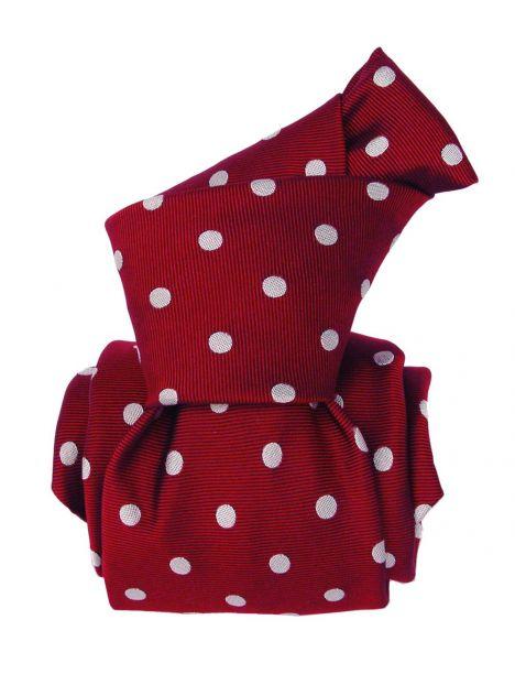 Cravate Segni Disegni LUXE, Faite main, Washington Rouge Segni et Disegni Cravates