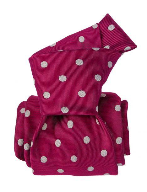 Cravate Segni Disegni LUXE, Faite main, Washington Fuchsia Segni et Disegni Cravates
