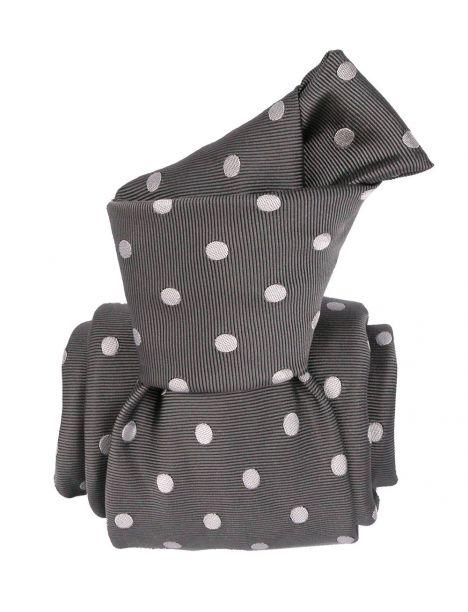 Cravate Segni Disegni LUXE, Faite main, Washington Gris Segni et Disegni Cravates