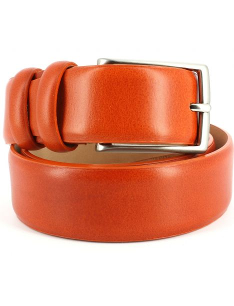 Ceinture cuir, orange, 35mm Robert Charles Ceintures