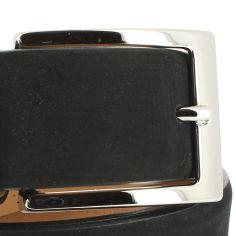 Ceinture cuir, Nubuck noir, 35mm