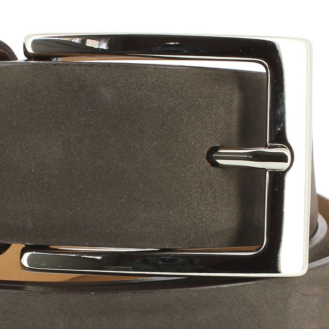 ceinture cuir nubuck marron 35mm cravate. Black Bedroom Furniture Sets. Home Design Ideas