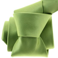 Cravate CLJ, Menton , Vert Anis