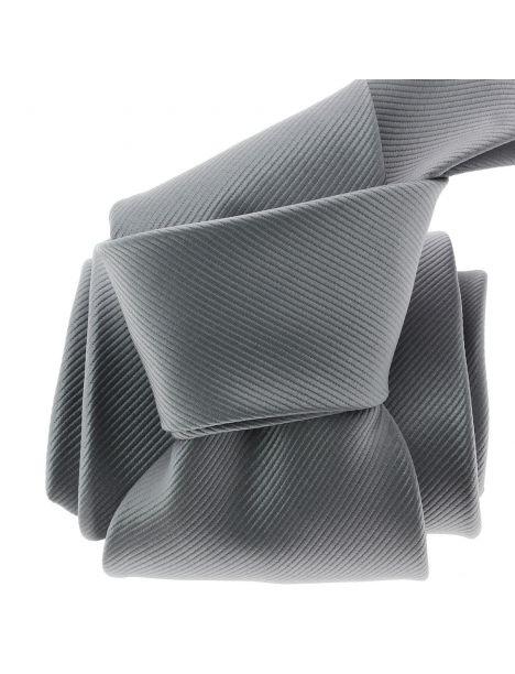 Cravate CLJ, Royan, Gris cendre Clj Charles Le Jeune Cravates