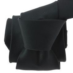 Cravate CLJ, Bistrot, Noir Charbon