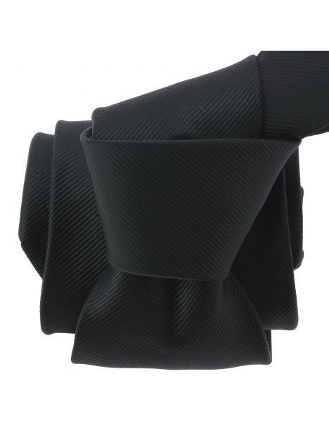 Cravate CLJ, Bistrot, Noir Charbon Clj Charles Le Jeune Cravates