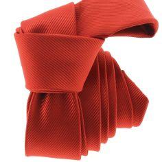 Cravate CLJ Slim 4cm, Punk Rouge Clj Charles Le Jeune Cravates