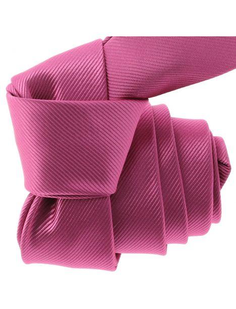 Cravate CLJ Slim 4cm, Rose Boléro Clj Charles Le Jeune Cravates