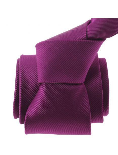 Cravate CLJ, Varese, Aubergine Clj Charles Le Jeune Cravates